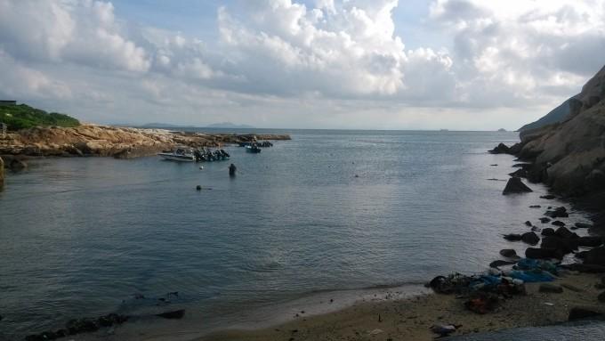碧海蓝天:珠海市庙湾岛,封岛前最后一游(广东省内游1