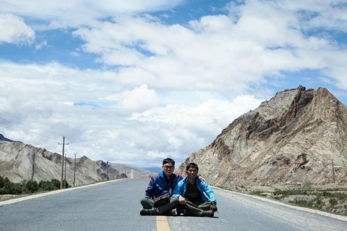 西藏最美的风景在路上   去之前刚看完,韩寒---后会无期,一路上听着