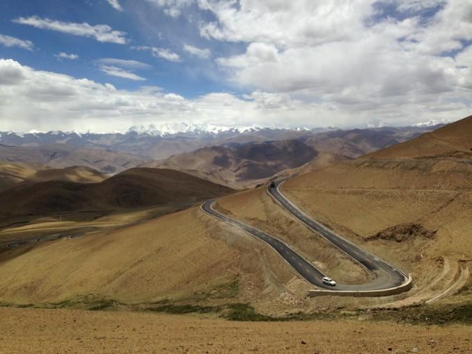 去西藏路途风景