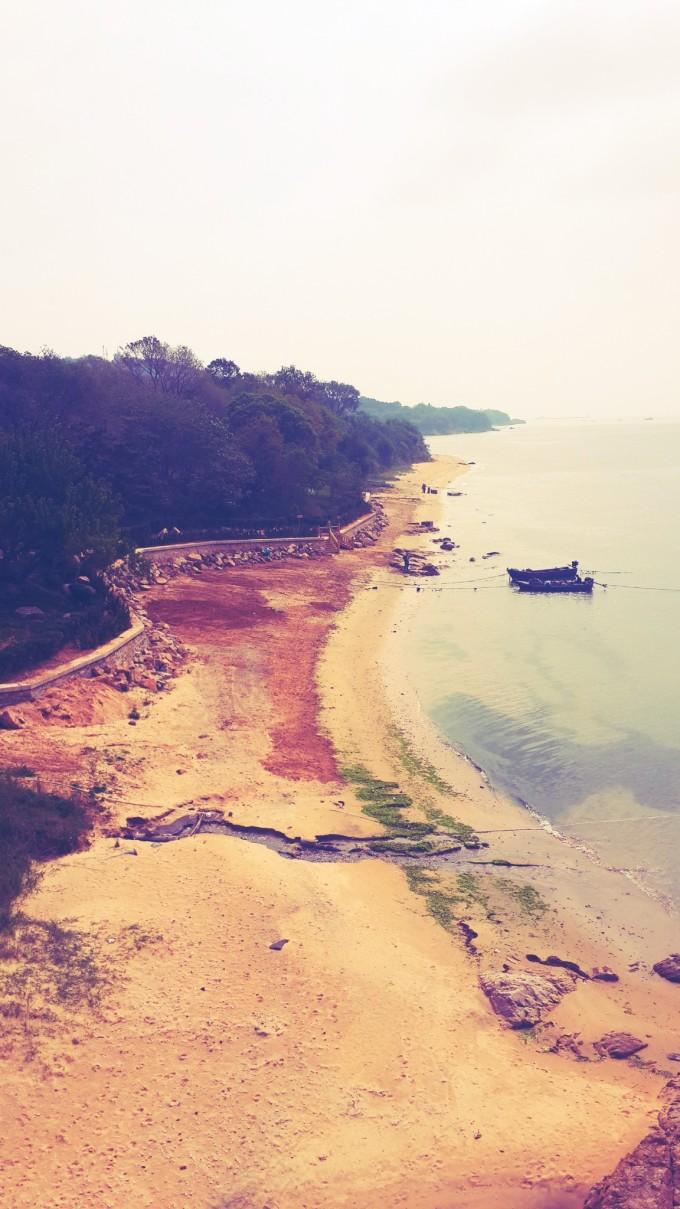 甲午海战大家历史都学过~刘公岛位于山东半岛最东端的威海湾内,人文