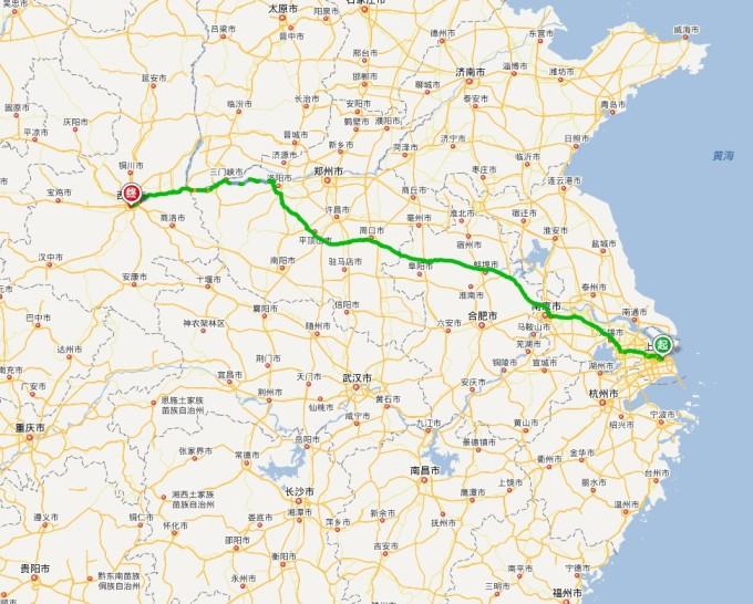回来时青岛下大雨,在胶州湾高速上车速只有90~100;从连云港回南京时是