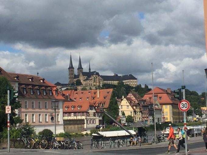 温馨小镇风景照片