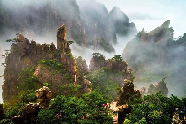 黄山风景     图片来自网络,感谢原作者无私分享