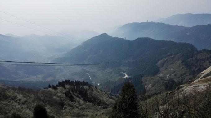 一月份衡山風景