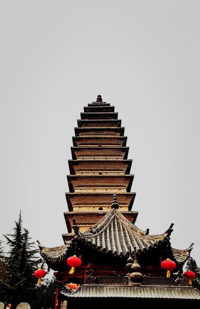 齐云塔院是白马寺站的最后一部分